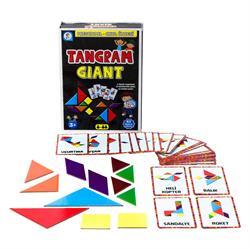 Kutulu 63 Parça Tangram Kartları Kutu Oyunu
