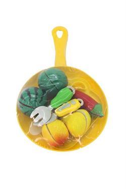 Kesilen Meyve Sebze Yemek Seti 15 Parça