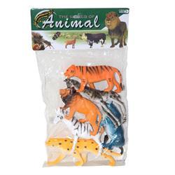 Poşetli Vahşi Hayvanlar 6 parça