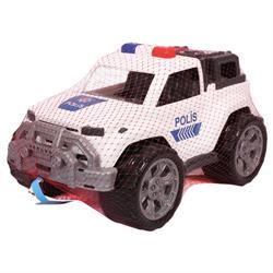 Polesie Oyuncak Polis Arabası Pickup Jeep