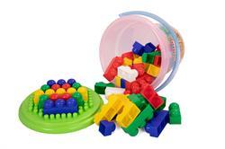 Polesie Oyuncak Kovalı Lego Seti 57 Parça
