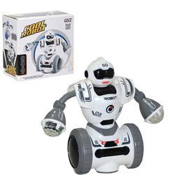 Kutulu Pilli Hareketli Robot Oyuncak