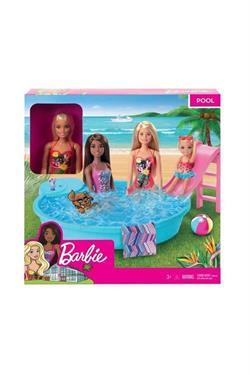 Barbie Ve Havuzu Oyun Seti