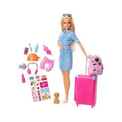 Barbie Seyehatte Bebeği Ve Aksesuarları