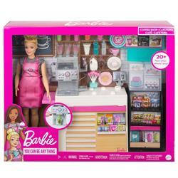 Barbie'nin Kahve Dükkanı Oyun Seti