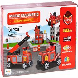 Magic Magnetic 50 Parça İtfaiye Serisi