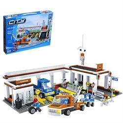 Ausını 443 Parça Araç Tamir İstasyonu Lego Oyun Seti