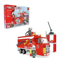 Ausını 309 Parça İtfaiye Mini Lego Seti