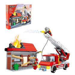 Ausını 355 Parça İtfaiye  Mini Lego Seti