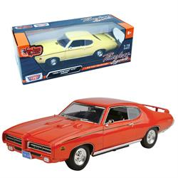 Pontiac Gto Judge 1969 Model Araba 1969 1:18