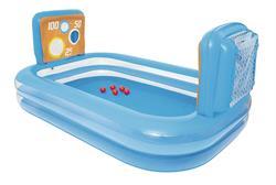 Bestway Büyük Boy Şişme Şut Oyunu Havuzu, Topları ile  237*152*94 Cm