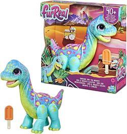 FurReal Snackin Sam the Bronto Sesli Hareketli Sevimli Dinozor