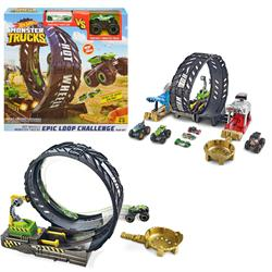 Hot Wheels Monster Trucks Efsane Çember Aksiyonu Oyun Seti