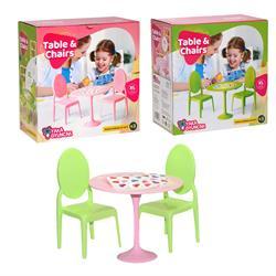 Kutulu Masa Sandalye Oyun Seti Ev Aksesuarı