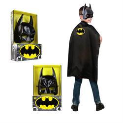 Batman Maske ve Pelerin Kahraman Kostüm Seti