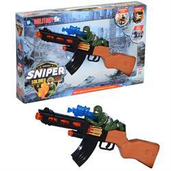 Kutulu Pilli Oyuncak Askeri Tüfek