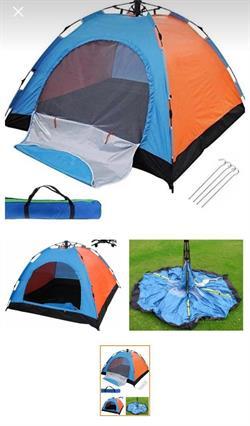 3 Kişilik Otomatik Kurulan Kamp Çadırı 200x150x125 Cm