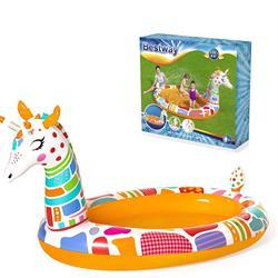 266x157 Cm Büyük Zürafa Desenli Çocuk Eğlence Havuzu