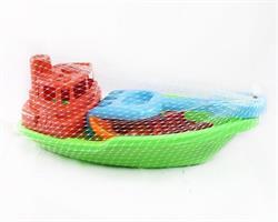 Balıkçı Teknesi Kürek Tırmık Kum Oyun Seti