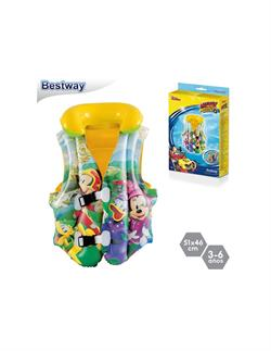 51x46 Cm Mickey Mouse Can Yeleği  Bestway
