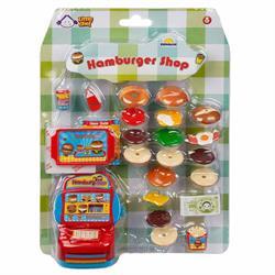 Little Chef Hamburger Dükkanı Oyun Seti