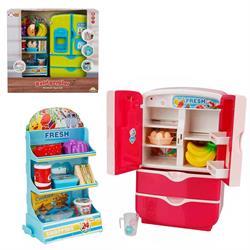 Little Chef Sesli ve Işıklı Buzdolabı Oyun Seti
