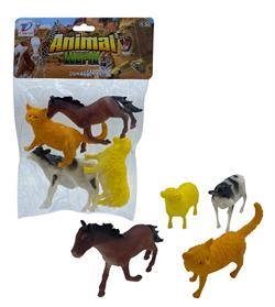 Poşetli Evcil Hayvanlar Çiftlik Seti
