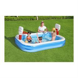 251*168*102 cm Basket Potalı Oyun Havuz Su Parkı