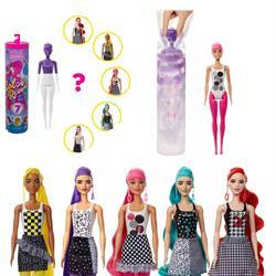 Barbie Color Reveal Renk Değiştiren Sürpriz Barbie Renk Bloklu Bebekler Seri 2