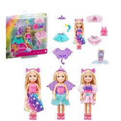 Barbie Dreamtopia Chelsea ve Kostümleri Oyun Seti GTF40
