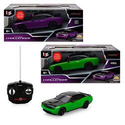 1:26 Uzaktan Kumandalı Dodge Challanger Işıklı Araba 1 Adet Fiyatıdır