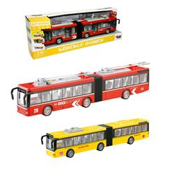 1:16 Sürtmeli Sesli Işıklı Körüklü Otobüs (Metrobüs) 1 Adet Fiyatıdır