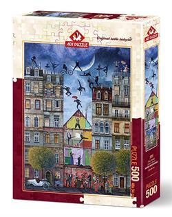 Art Puzzle Düş Sokağı 500 Parça Puzzle