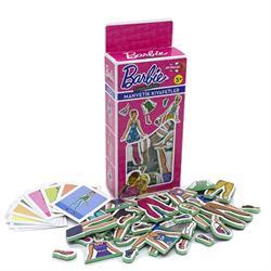Barbie Magnetiq Kıyafet Giydirme Magnet Oyunu Eva