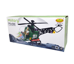 Işıkllı Pilli Sesli Hareketli Oyuncak Helikopter