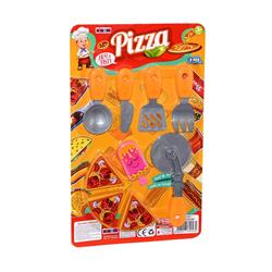 Kartelada 9 Parça Pizza Oyuncak Seti