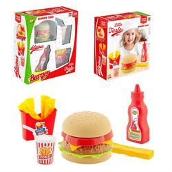 Kutulu Mini Hamburger Oyun Seti