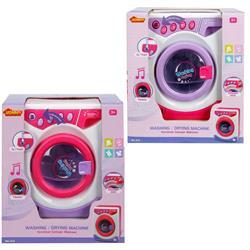Müzikli ve Işıklı Çamaşır Makinesi  Pembe Veya Mor 1 Adet Fiyatıdır